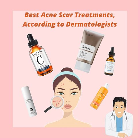 Derm-Approved Ingredients and Products For Treating Acne Scars✅✅