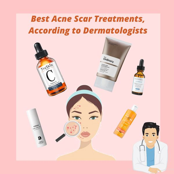 Derm-Approved Ingredients and Products For Treating Acne Scars✅✅ | Cherie