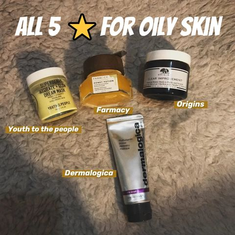 Life changing products for oily skin!😮😮😮