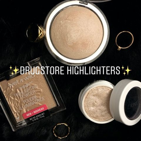 My top 3 drugstore highlighters