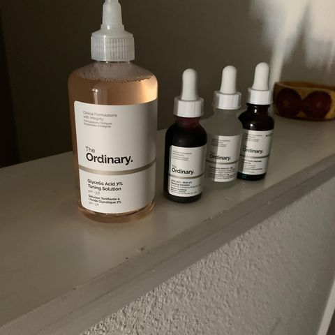 The Ordinary has changed my routine 😊