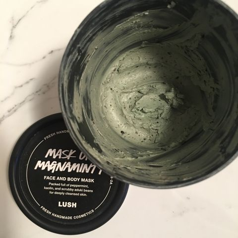 This mask works wonders for pore minimizing!