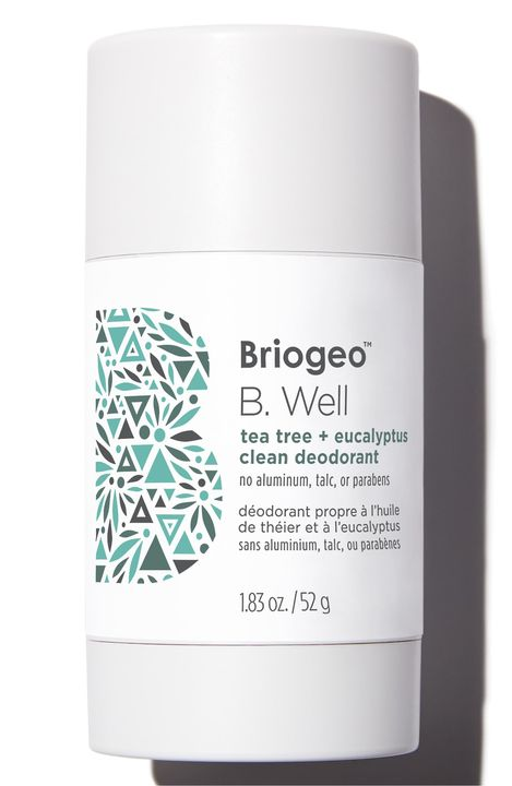 B. Well Tea Tree + Eucalyptus Clean Natural Deodorant
