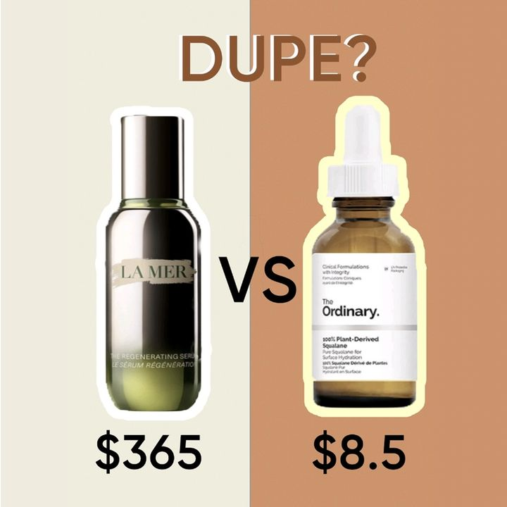 🚨Dupes Alert: La Mer vs The Ordinary🚨