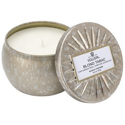 Blond Tabac Petite Tin Candle Blond Tabac