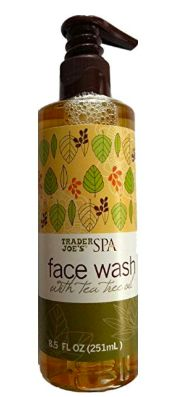 Face Wash with Tea Tree Oil