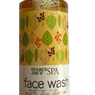 Face Wash with Tea Tree Oil, TRADER JOE'S, cherie