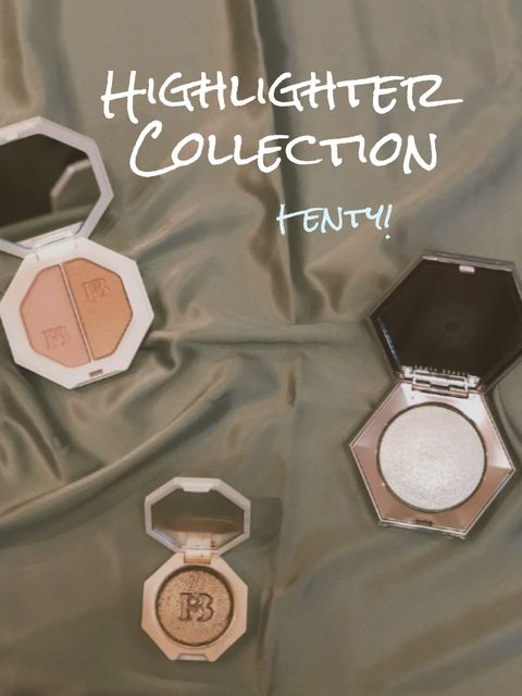 Fenty Beauty Highlighters! Absolutely Beautiful!