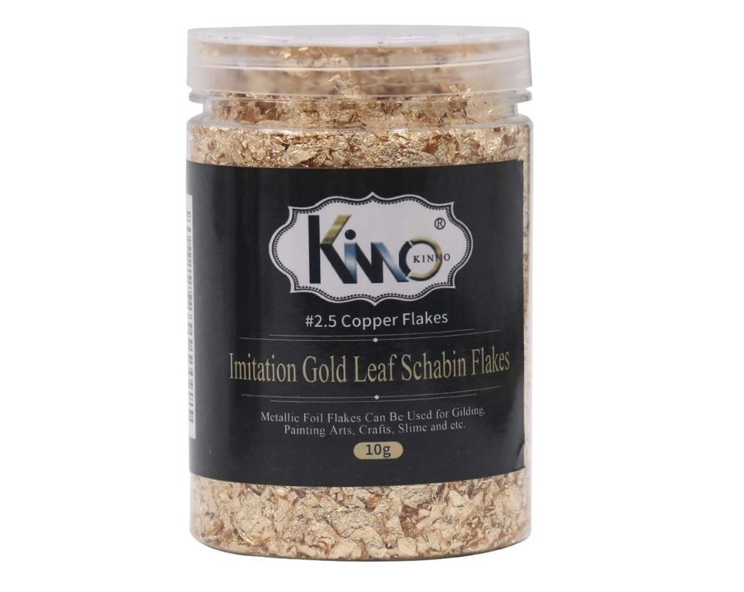 Imitation Gold Leaf Schabin Flakes
