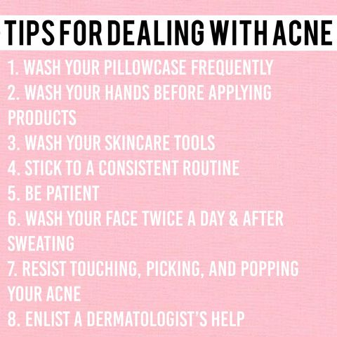 Tips for Dealing with Acne!