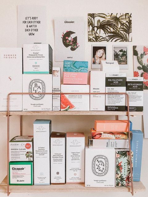 products up on the box shelf t