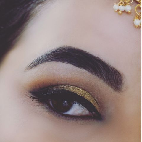 Simple festive indian look!