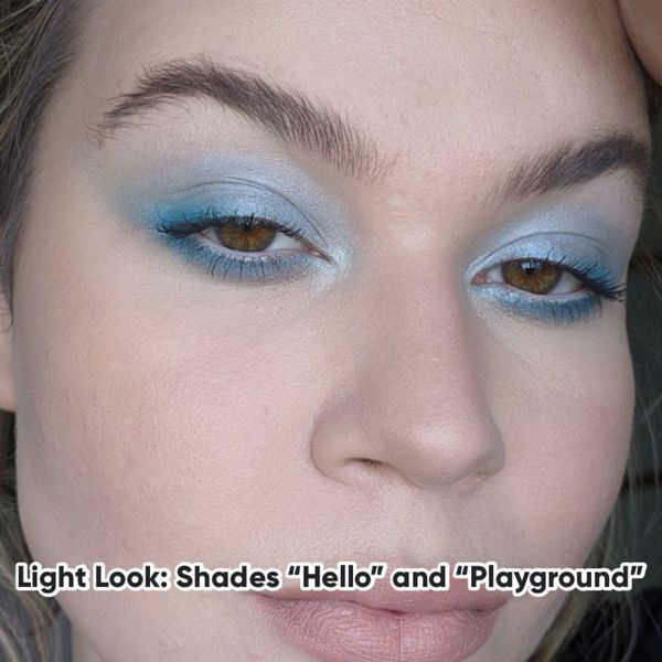 90s Makeup Trend: Blue Eyes and Nude Lips | Cherie