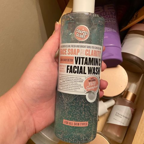 Cleanser? I hardly know her!