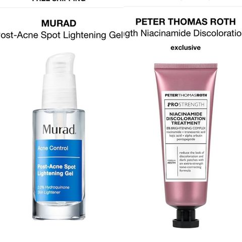 Heavy hitters: Murad or Peter Thomas Roth?