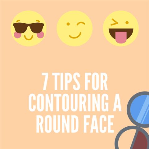 7 Tips for Contouring a ROUND face