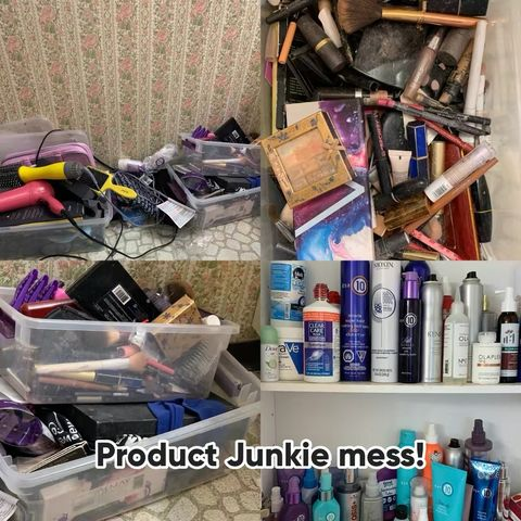 Who has a hoarding problem with products?