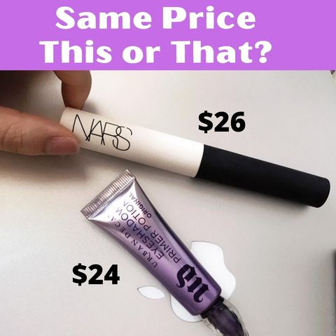 NARS vs. Urban Decay, for eye primer, the winner is...