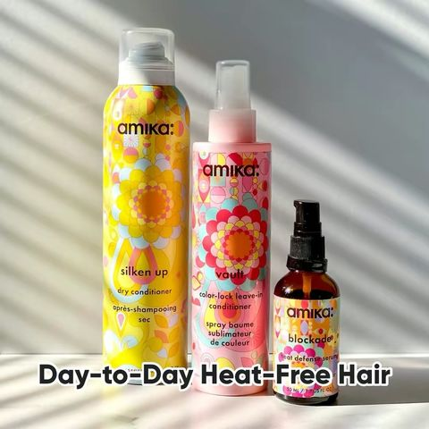 Day-to-Day Heat-Free Hair