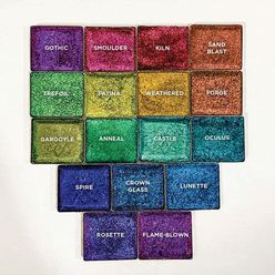 Complete Set of Jewelled Multichromes (17 pc.)