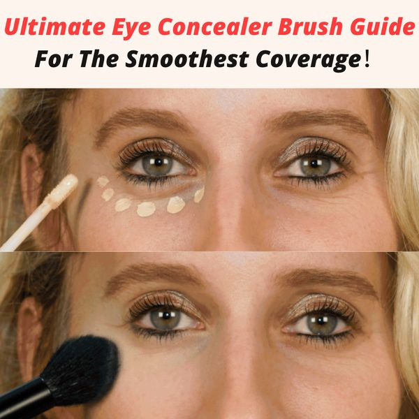 Ultimate Eye Concealer Brush Guide For The Smoothest Coverage! | Cherie