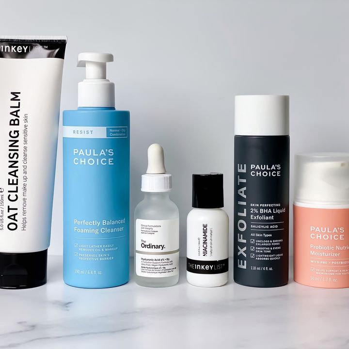 Your Skin Routine For: Oily, Large Pores, Acne
