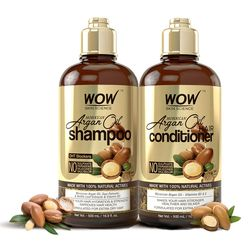 Skin Science Moroccan Argan Oil Shampoo & Conditioner Pack (500ml/Bottle) Pack