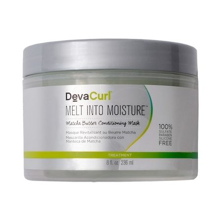 Melt into Moisture Matcha Butter Conditioning Mask, DevaCurl, cherie