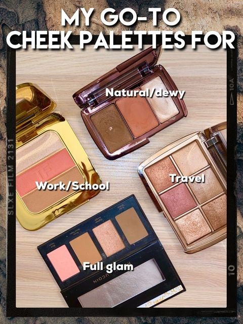 GO-TO: CHEEK PALETTES