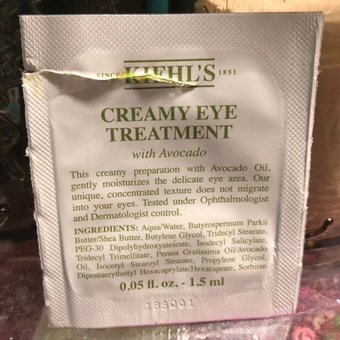 Two Avocado Eye Creams & The One That's Better!