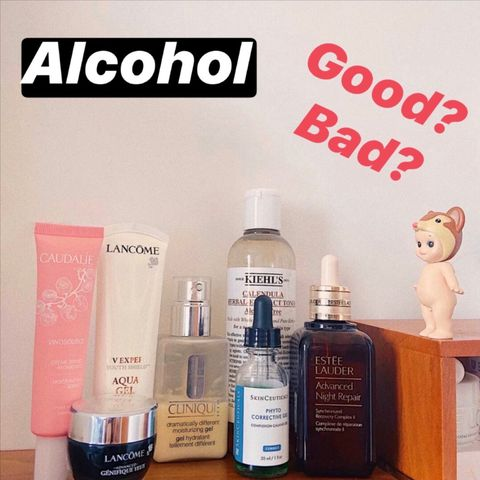 Alcohol in Skincare Products: Good or Bad?