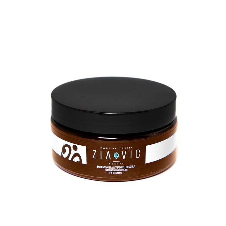 Taha'a Vanilla & Tuamotu Coconut Exfoliating Body Polish With Tahitian Monoï