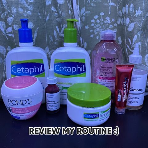 review my (skin care) routine🥰!