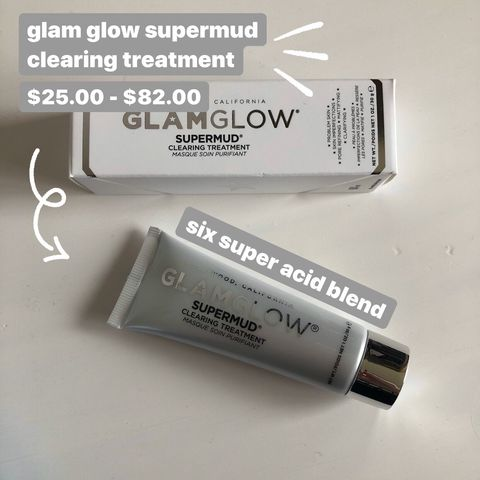 glam glow supermud clearing mask