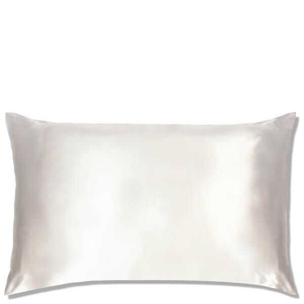 Silk Pillowcase Queen White, slip, cherie