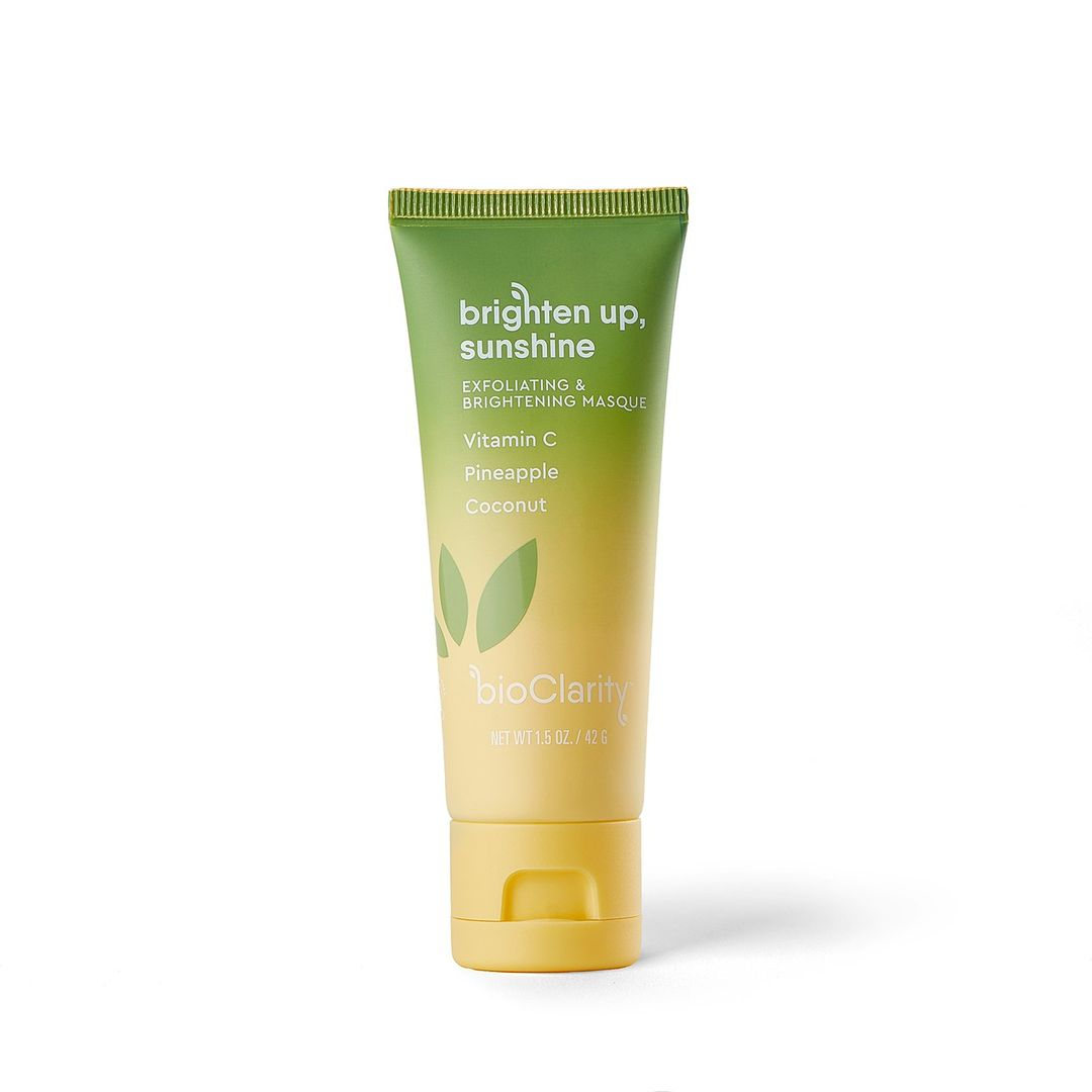 Brighten Up, Sunshine Brightening and Exfoliating Masque