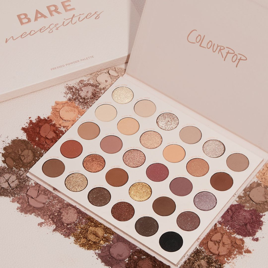 Bare Necessities Shadow Palette