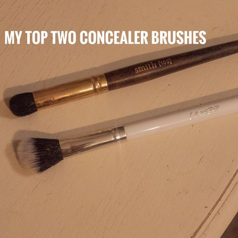 My Top Two Concealer Brushes