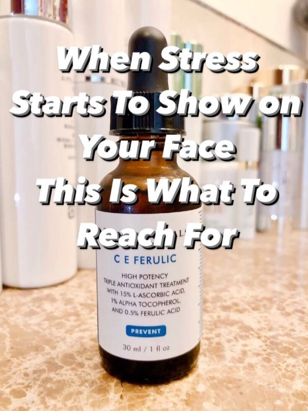 Skincare solutions for stressed-out skin | Cherie
