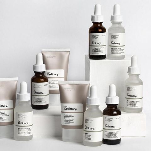 The ordinary skincare routine