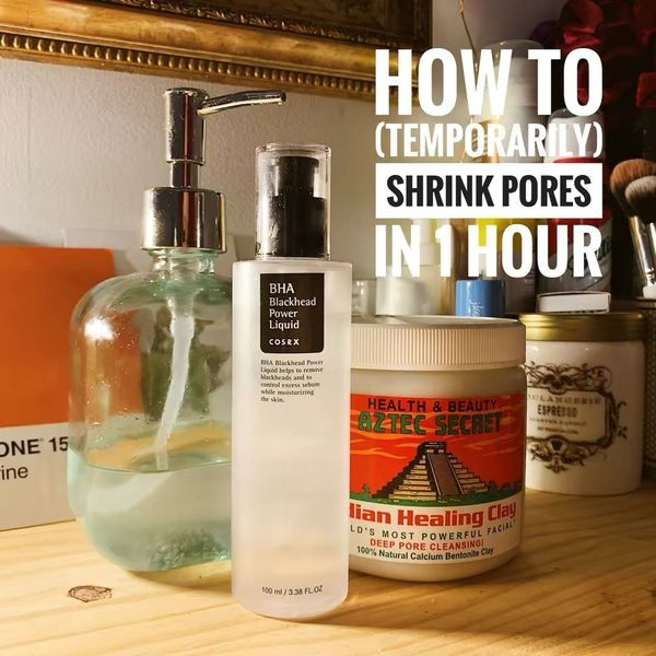 How to (Temporarily) Shrink Your Pores in 1 Hour | Cherie