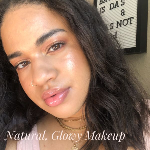 Natural, Glowy Makeup | Cherie