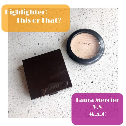Highlighter - This or That: Laura Mercier Mac