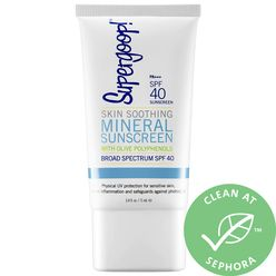 Skin Soothing Mineral Sunscreen Broad Spectrum SPF 40