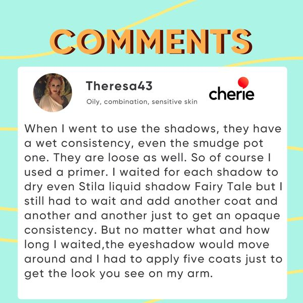 Picked Comments: Eyeshadow  | Cherie