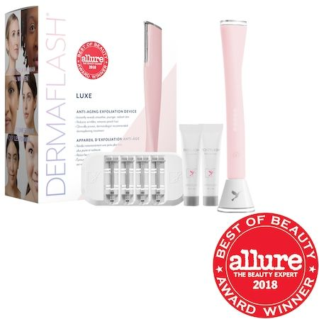 LUXE Anti-Aging Dermaplaning Exfoliation Device
