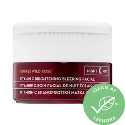Wild Rose Vitamin C Brightening Sleeping Facial