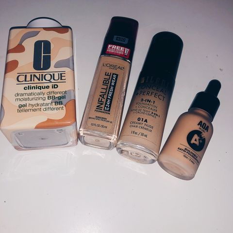 Foundations for combination skin !!!