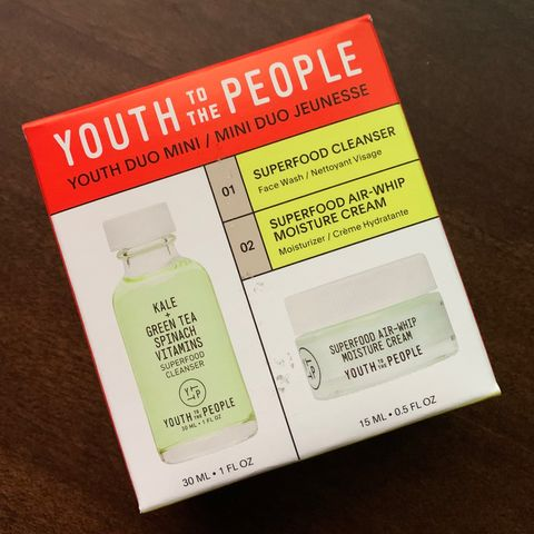 Perfect travel kit from Youth to the People