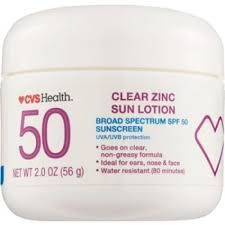 Clear Zinc Sun Lotion SPF 50